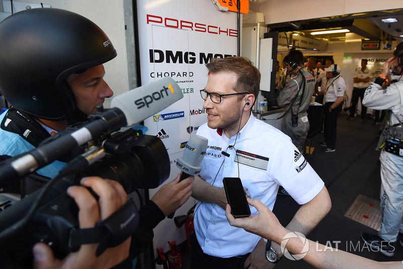 Andreas Seidl, Teamchef LMP1 Porsche Team
