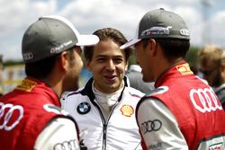 Mike Rockenfeller, Audi Sport Team Phoenix, Audi RS 5 DTM, Augusto Farfus, BMW Team RMG, BMW M4 DTM, Loic Duval, Audi Sport Team Phoenix, Audi RS 5 DTM