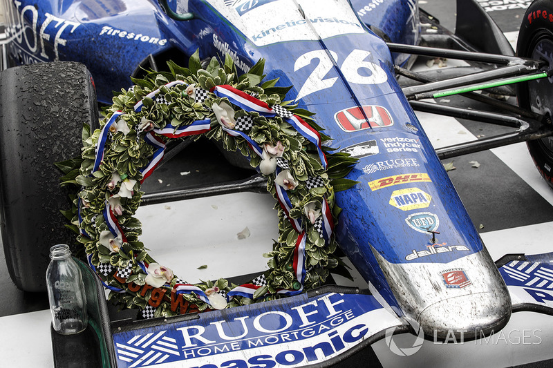 Ganador, Takuma Sato, Andretti Autosport Honda