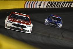 Ryan Blaney, Wood Brothers Racing Ford, Regan Smith, Richard Petty Motorsports Ford