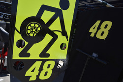 Jimmie Johnson's pitboard