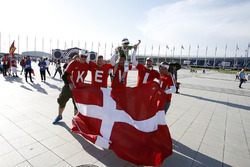 Fans of Kevin Magnussen, Haas F1 Team