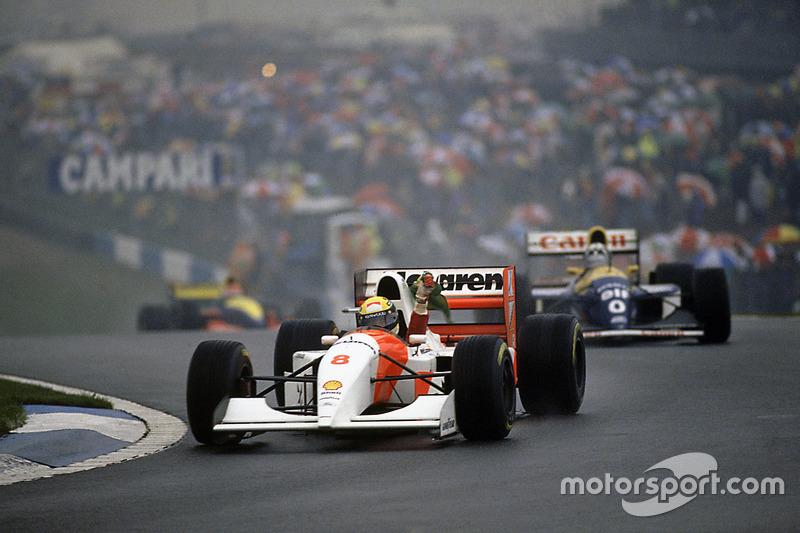 9 место. Гран При Европы-1993, «Донингтон»