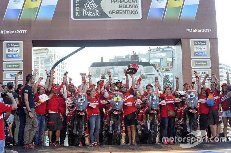 #33 Himoinsa Racing Team KTM: Antonio Gimeno, #8 Himoinsa Racing Team KTM: Gerard Farrés, #81 Himoinsa Racing Team KTM: Rosa Romero, #82 Himoinsa Racing Team KTM: Daniel Oliveras