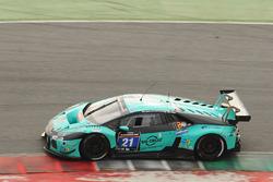 #21 Konrad Motorsport, Lamborghini Huracan GT3: Franz Konrad, Marco Mapelli, Giorgio Maggi, Christop
