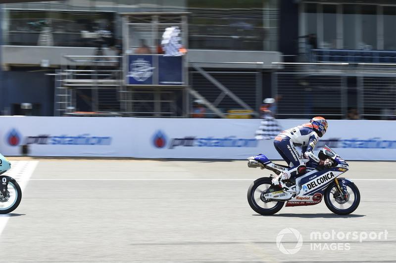 Il vincitore Fabio Di Giannantonio, Del Conca Gresini Racing Moto3
