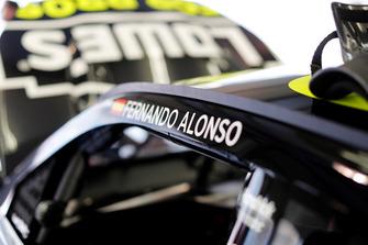 Le nom de Fernando Alonso sur la NASCAR