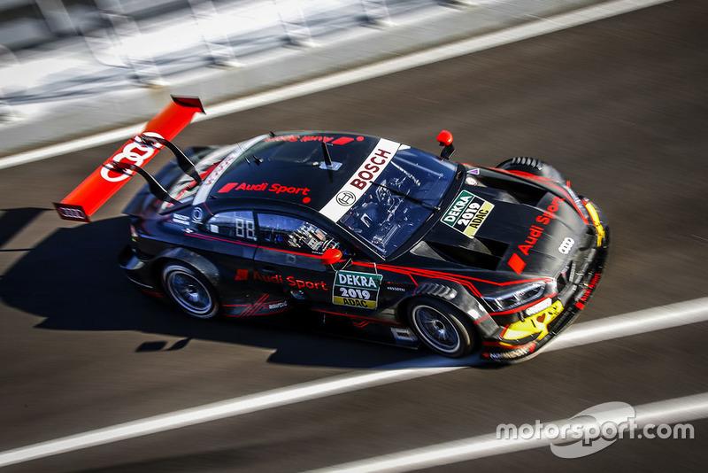 Nico Müller, René Rast, Mike Rockenfeller, Audi RS 5 DTM