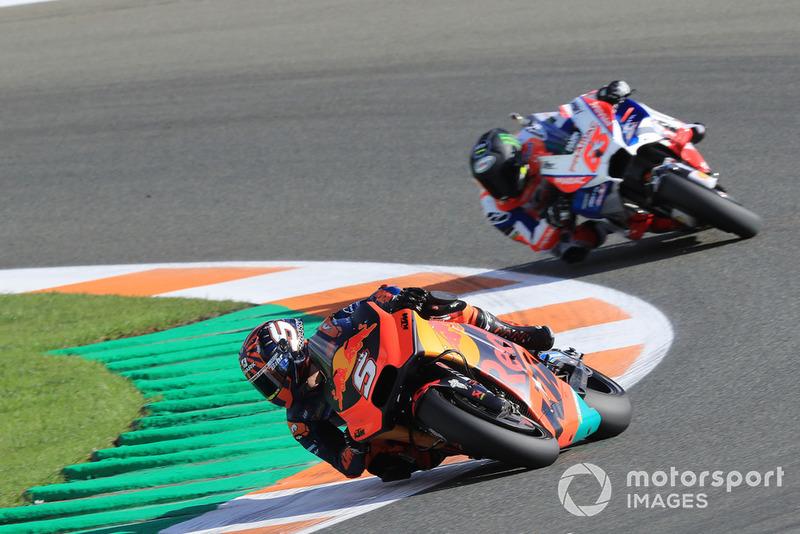 Johann Zarco, Red Bull KTM Factory Racing, Francesco Bagnaia, Alma Pramac Racing