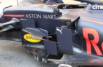 Red Bull Racing RB15 sidepod detail