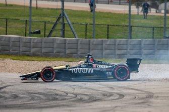 James Hinchcliffe, Arrow Schmidt Peterson Motorsports Honda en tête-à-queue