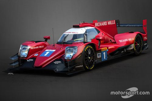 Richard Mille Racing livery unveil