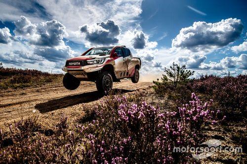 Test de Alonso y Toyota en Polonia