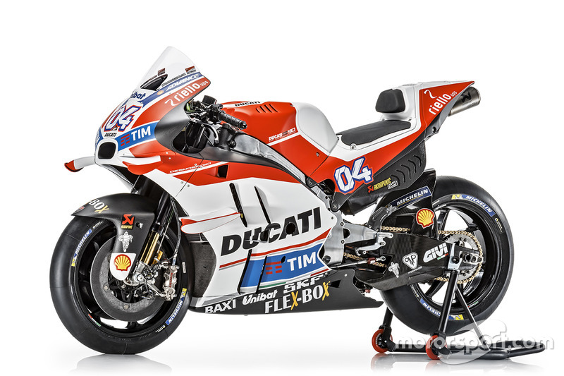 La moto de Andrea Dovizioso, Ducati Team