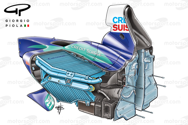 Chasis Sauber C24