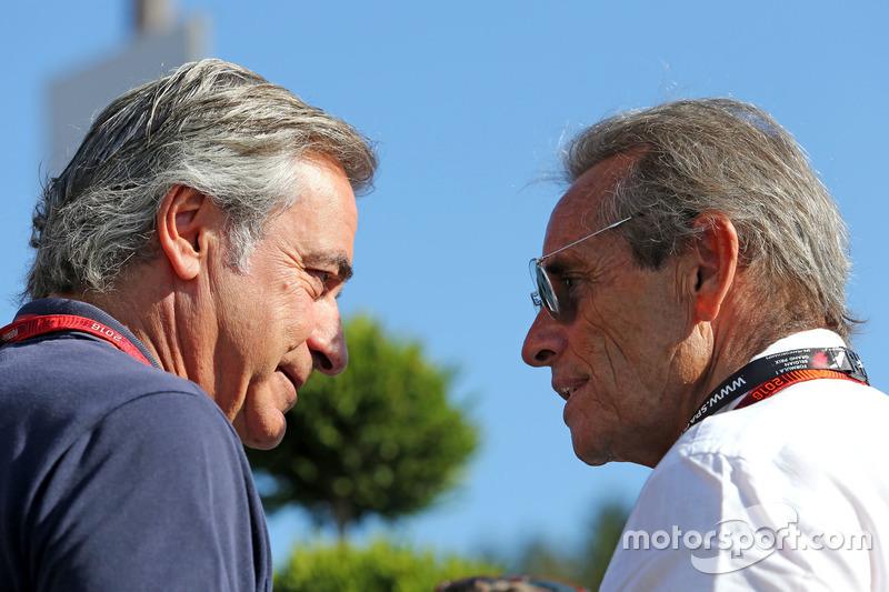 Carlos Sainz und Jacky Ickx,