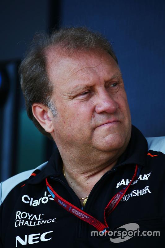 Robert Fernley, Sahara Force India F1 Team afgevaardigd teambaas
