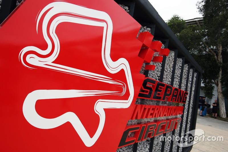 Sepang International Circuit sign