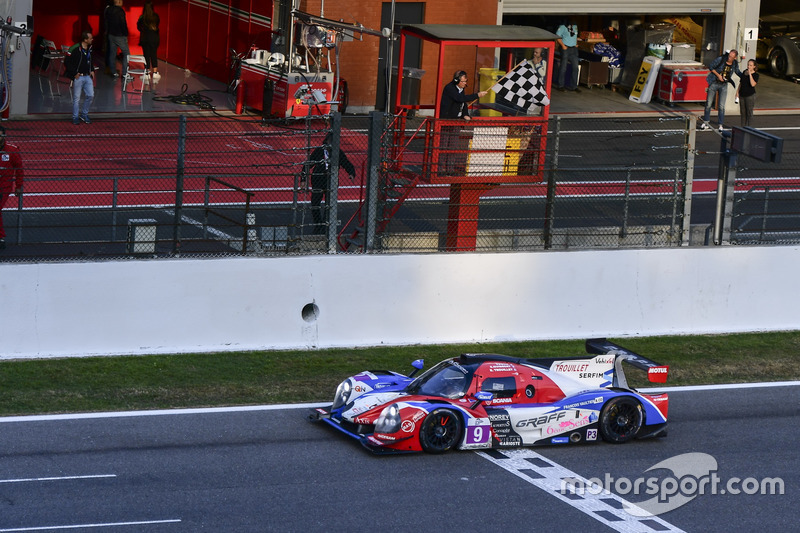 LMP3-Sieg für #9 Graff Racing, Ligier JS P3 - Nissan: Eric Trouillet, Paul Petit, Enzo Guibbert
