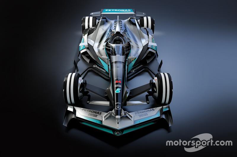 Mercedes 2030 fantezi tasarım