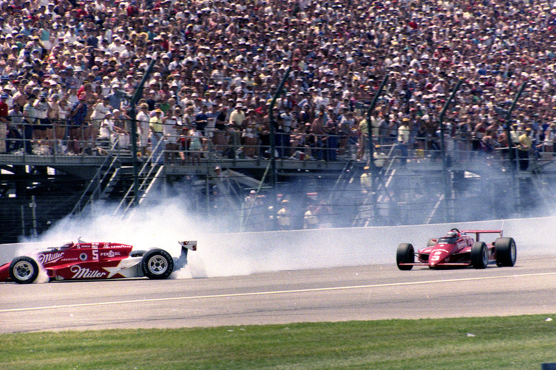 No, it wasn't the greatest race, in the end, but this is one of the most iconic moments in IMS history.