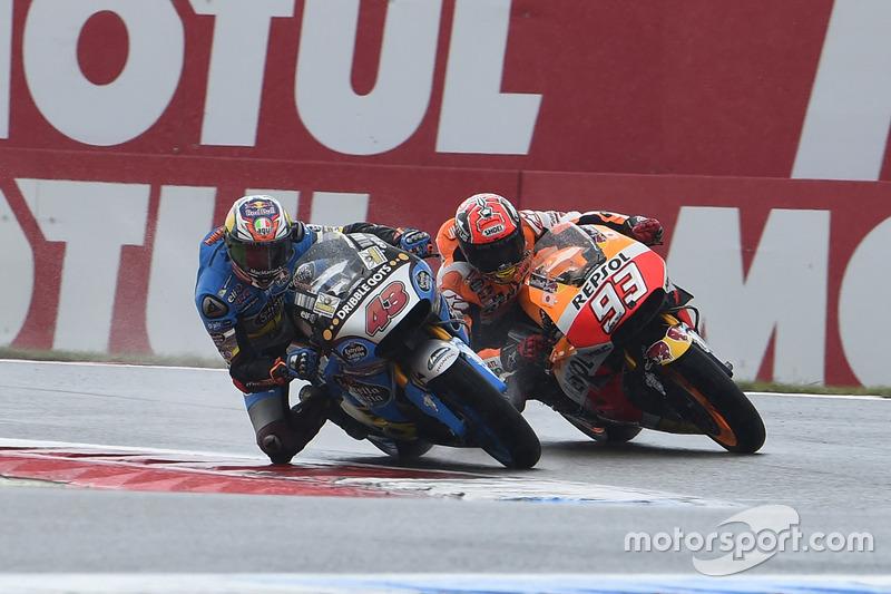 Jack Miller, Marc VDS Racing Honda y Marc Márquez, Repsol Honda Team