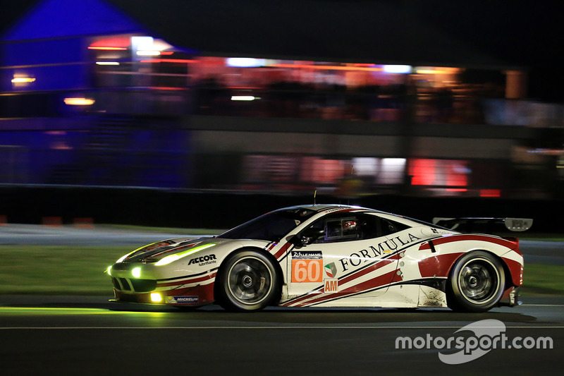 54: #60 Formula Racing Ferrari 458 Italia: Christina Nielsen, Mikkel Mac, Johnny Laursen