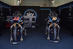 Bikes of Francesco Bagnaia, Sky Racing Team VR46, Luca Marini, Sky Racing Team VR47