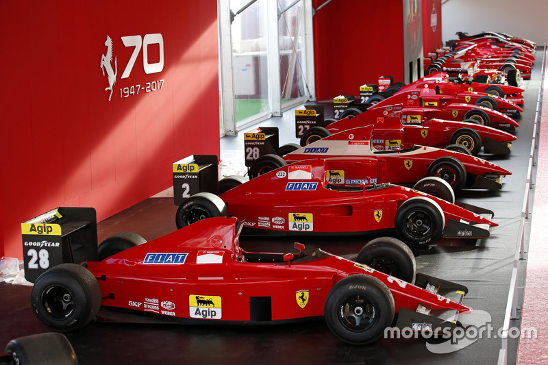 9. F1 Ferraris