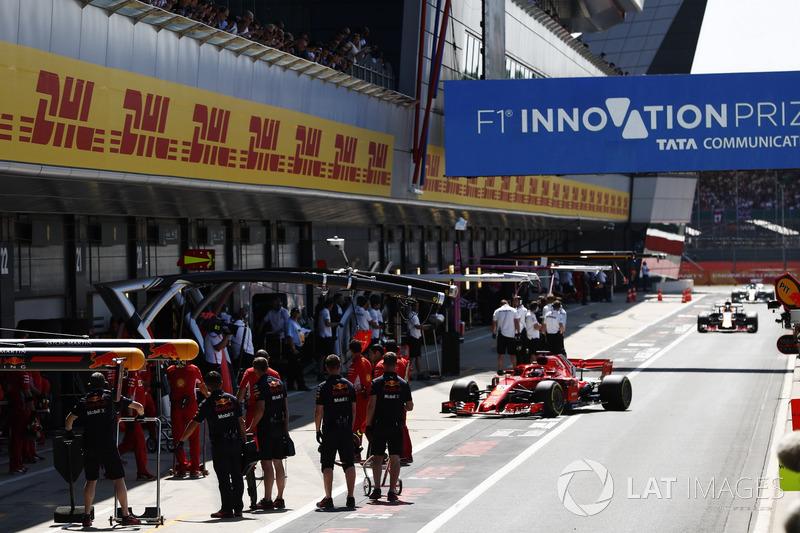 Brit Nagydíj - F1 2018 - szombat