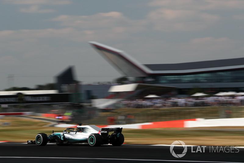 GP de Gran Bretaña: Lewis Hamilton (2º en carrera)
