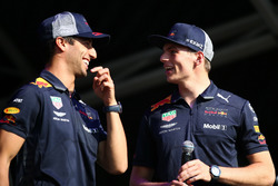 Max Verstappen y Daniel Ricciardo, Red Bull Racing