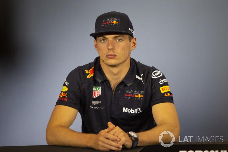 Max Verstappen, Red Bull Racing en conférence de presse