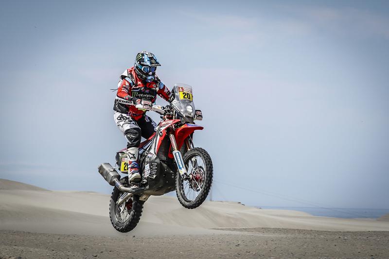 #20 Monster Energy Honda Team Honda: Ріккі Брабек