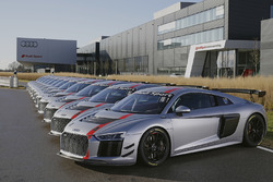 Levering van de Audi R8 LMS GT4