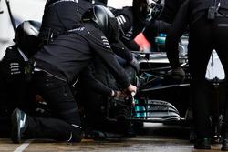 Pit stop, Valtteri Bottas, Mercedes AMG F1 W09