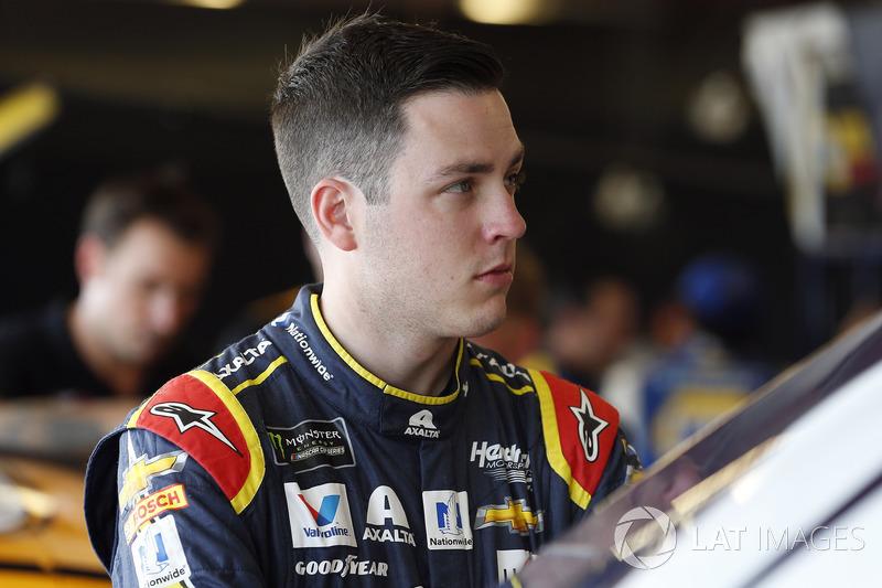 Alex Bowman, Hendrick Motorsports, Chevrolet Camaro Axalta]