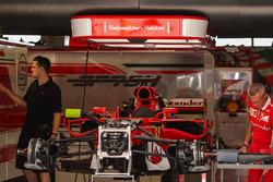 Ferrari SF70H garajda