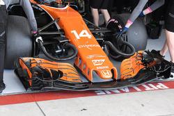 McLaren MCL32 neus