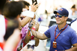 Fans meet Rubens Barrichello