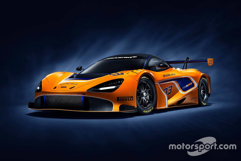 McLaren 720S GT3 unveil