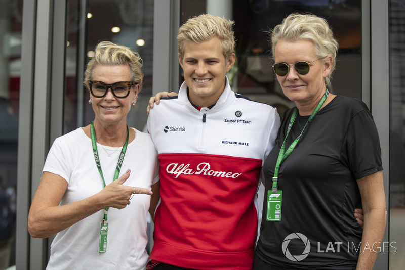 Marcus Ericsson, Sauber and guests