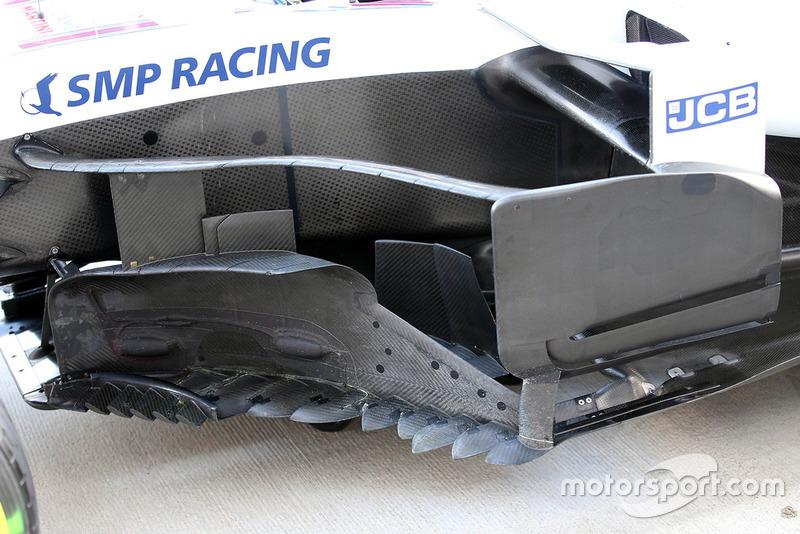 Un déflecteur de la Williams FW41