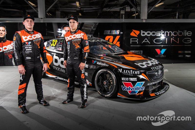 Richie Stanaway, James Golding, Garry Rogers Motorsport unveil