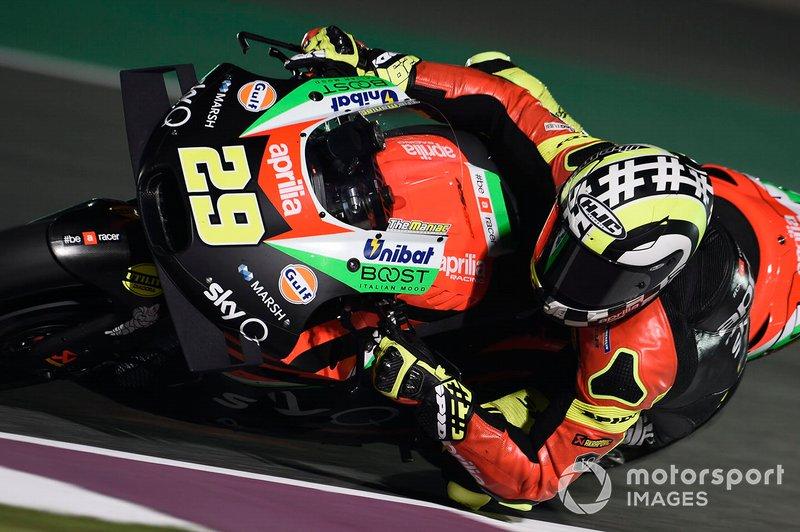 №29. Андреа Янноне (Италия), Aprilia Racing Team Gresini, Aprilia RS-GP