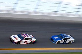 Denny Hamlin, Joe Gibbs Racing, Toyota Camry FedEx Express, Alex Bowman, Hendrick Motorsports, Chevrolet Camaro Nationwide