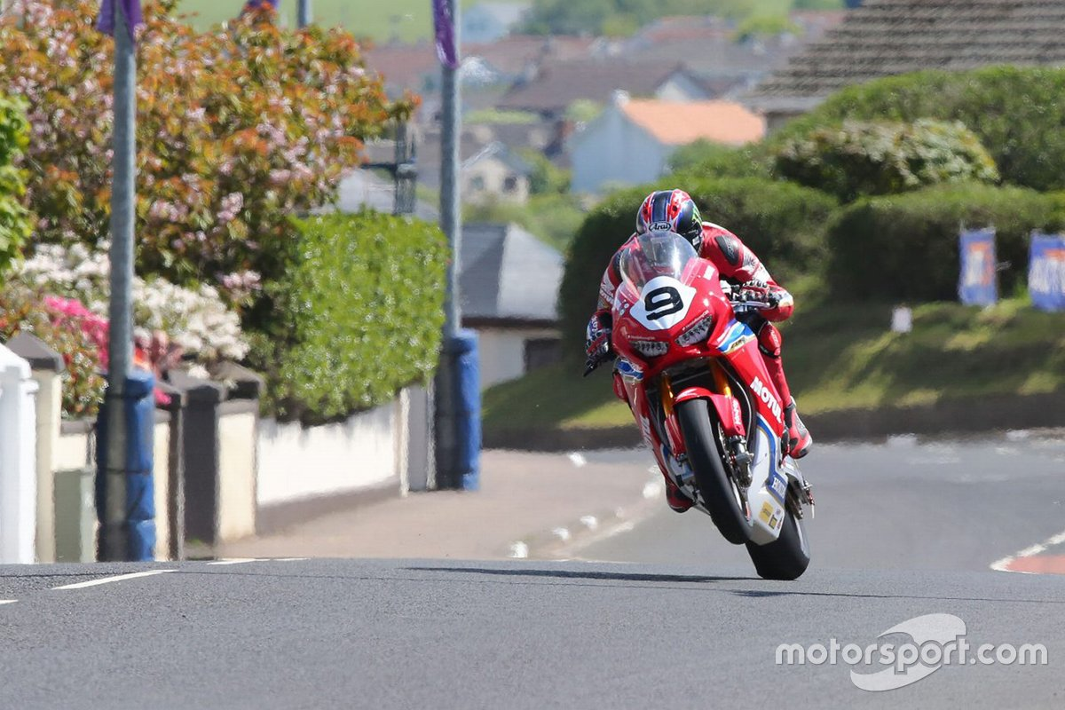 Track action, Isle of Man TT