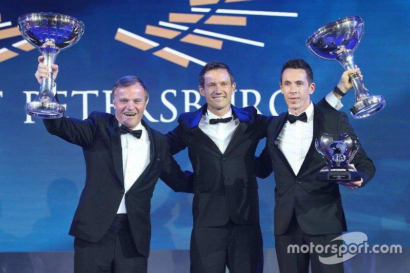Tommi Makinen, Toyota Gazoo Racing WRC Team Principal, Sébastien Ogier, Julien Ingrassia, M-Sport