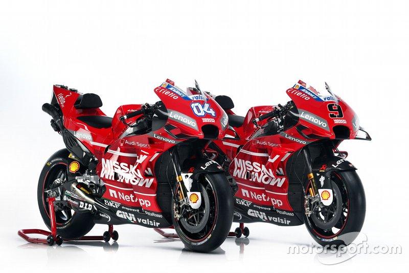 Présentation de la livrée Ducati