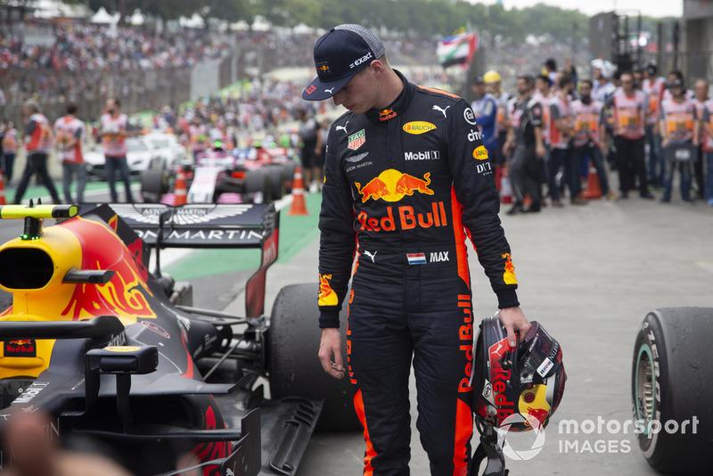Max Verstappen, Red Bull Racing, Parc Ferme